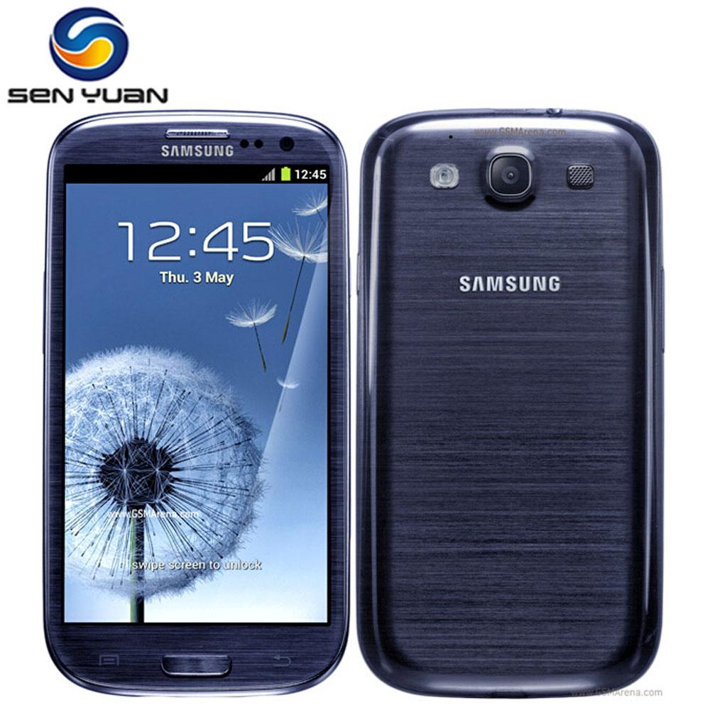 "Samsung Galaxy S3 i9300 Original Unlocked 3G GSM Android Mobile Phone Quad-core 4.8"" 8MP WIFI GPS 16GB Dropshipping(China (Mainland))"