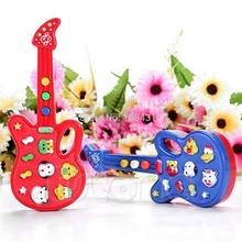 Baby Electronic Guitar Toy Nursery Children Kids Rhyme Developmental Music Toy(China (Mainland))