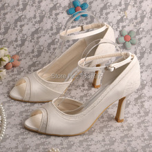 Prom Shoes 9CM Heel Wedding Shoes Free Shipping