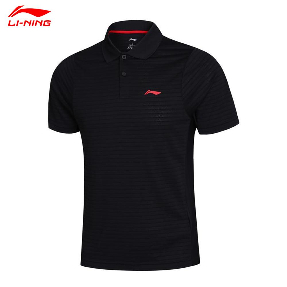 Li-Ning Man Football Jerseys Polo Shirt Badminton Tennis Basketball Men Quick Dry Casual Sport Polo APLH075(China (Mainland))