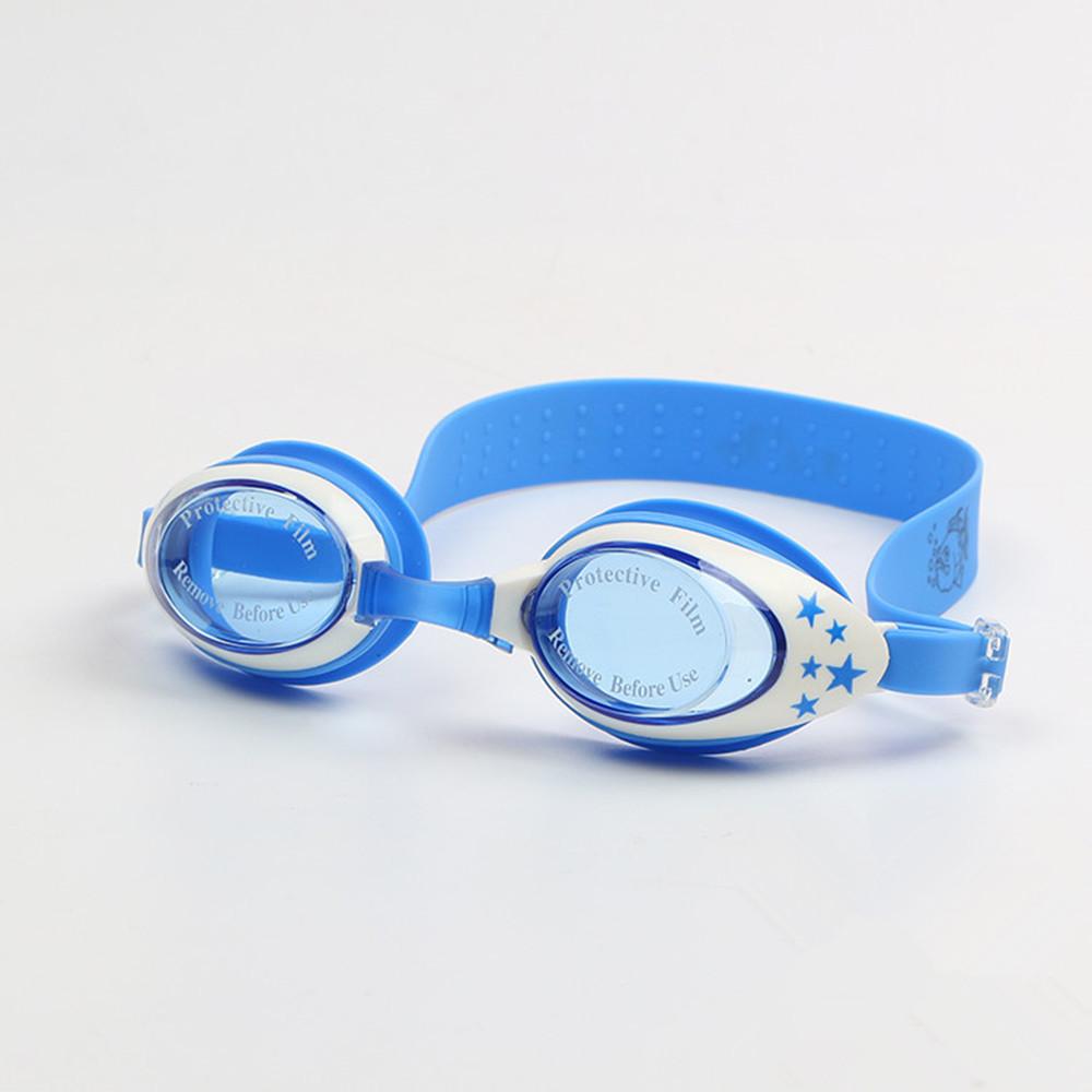 Summer Colorful Silicone Watertight Anti-Fog Children Kids Boys Girls Swimming Goggles Swim Eyewear/Swim Glasses Free Shipping(China (Mainland))