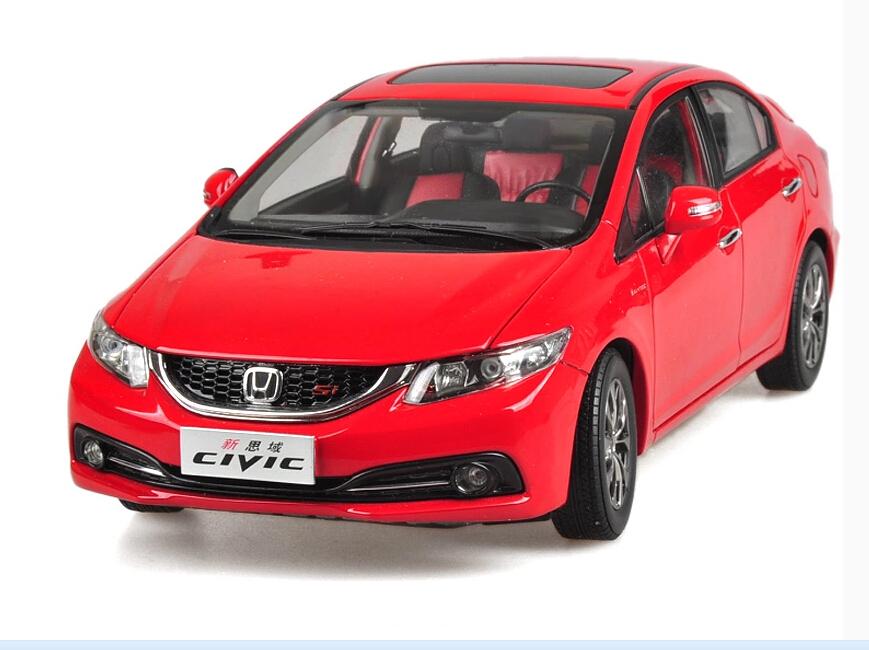 2015 hot sell Honda New CIVIC 1:18 alloy car model(China (Mainland))