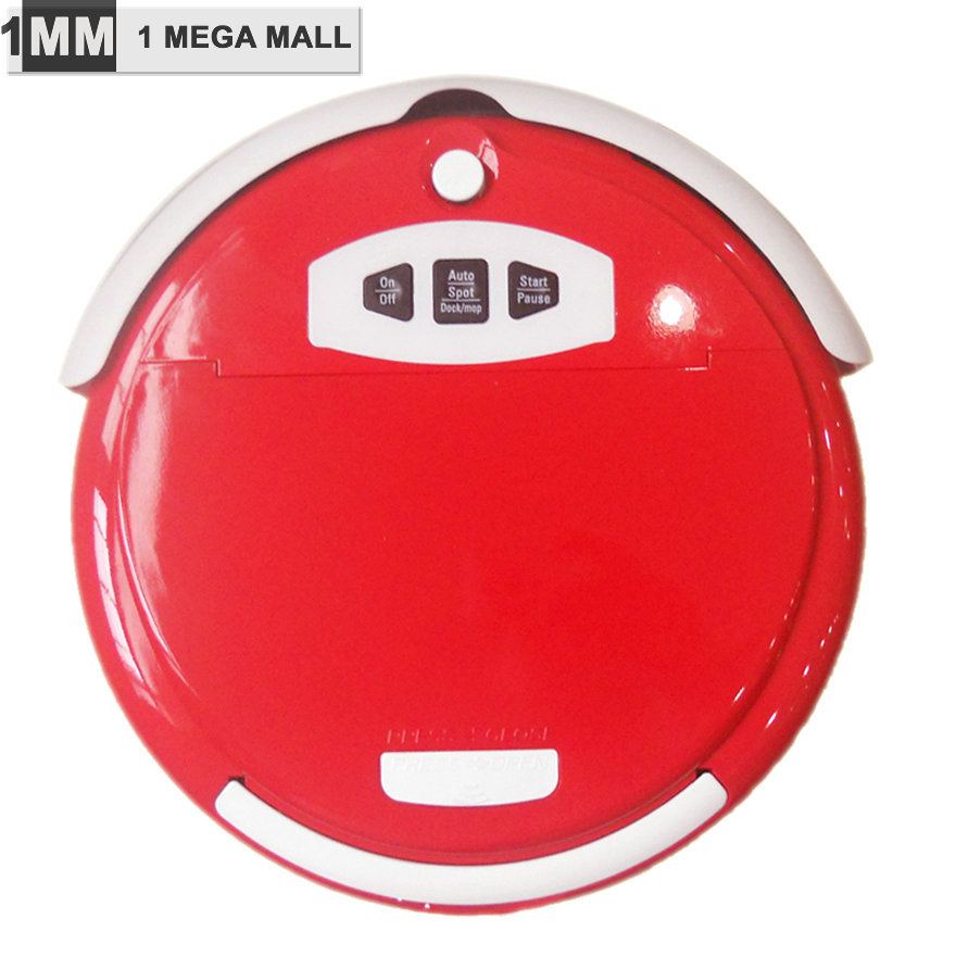 FREE EXPRESS MINI 3 IN 1(Sweep,suct,Mop) Robotic Vacuum Cleaner ,Multifunction ,Remote Control,Screen,2 Side Brush,Self Recharge(China (Mainland))