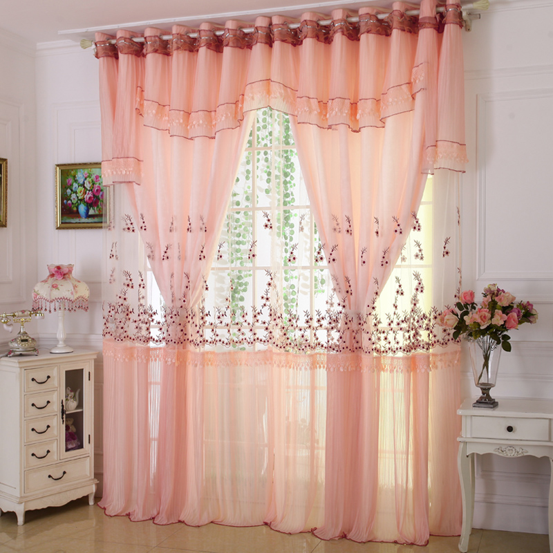 buy custom curtains high grade embroidery. Black Bedroom Furniture Sets. Home Design Ideas