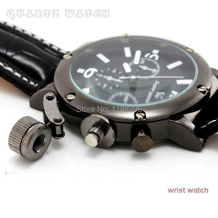 Wholesale Men Wrist Watches V6 fashion leather strap quartz watch sports watches men Outdoor sports waterproof
