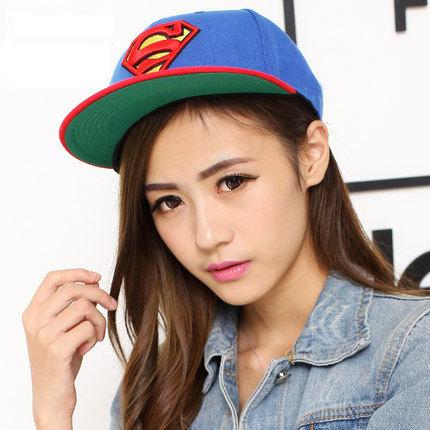 New brand superman polo cap hip hop snapback baseball Caps men S Logo Superman Visor hats style gorras top cap superman chapeu(China (Mainland))