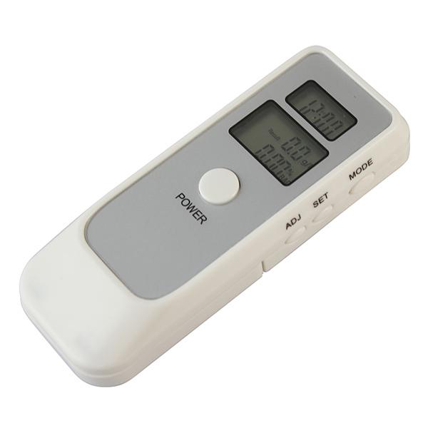 Dual LCD Display Clock Function Digital BAC Tester Breath Alcohol Analyzer(China (Mainland))