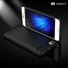 GKK Bruahed Silicone Cell Phone Case For Xiaomi mi 5 Case mi5 Cases Cover Shell Coque m5 Phone Fundas Caso de telefone(China (Mainland))