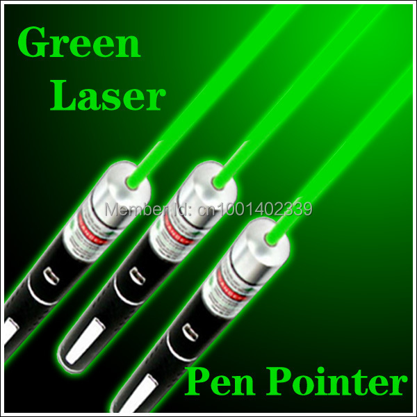 New Great Powerful Light 100mw Green Laser Pointer Pen Visible Beam freen shipping(China (Mainland))