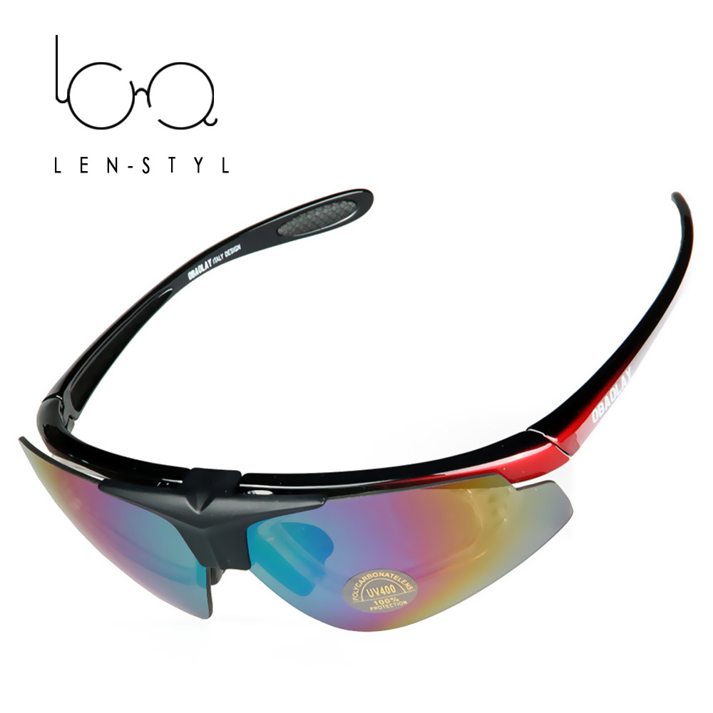 LENSTYL Men Polarized Flip Goggles Outdoor Sports Eye Sun Glasses UV Protect Wind Sand Resistant Dust Waterproof Eyewear(China (Mainland))