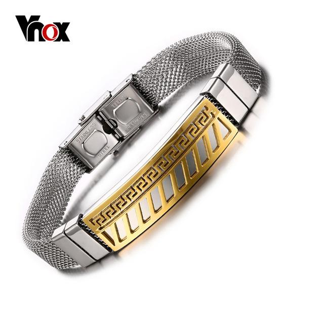 Мужские браслеты и браслеты позолоченный греческий комбинацию клавиш очаровывает ...