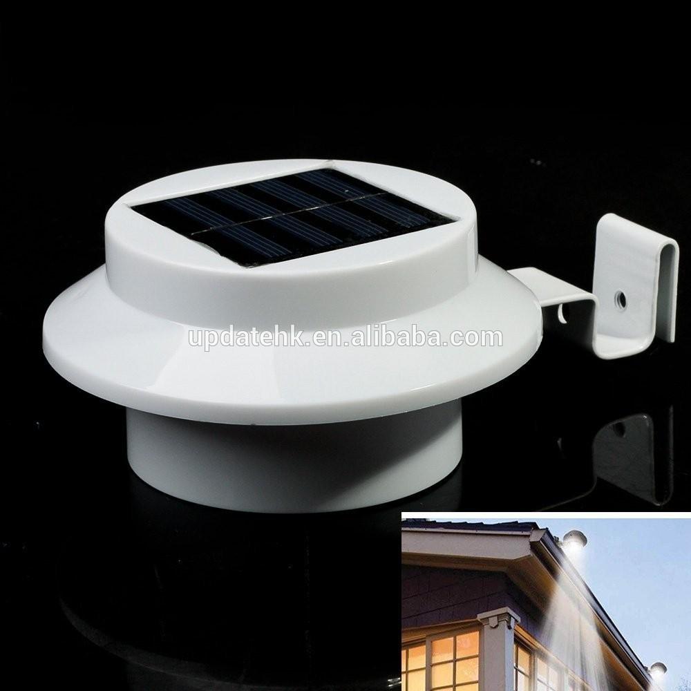 homean 3 led solar power street light solar motion sensor. Black Bedroom Furniture Sets. Home Design Ideas
