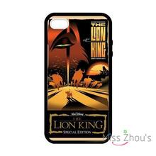 For iphone 4/4s 5/5s 5c SE 6/6s plus ipod touch 4/5/6 back skins mobile cellphone cases cover Simba Lion King