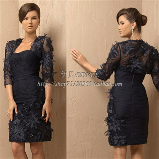 2013 advanced aesthetic flower clothing trend of the mother formal dress mother dress(China (Mainland))