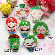 min order is $10 acrylic badge brooch Mobile Phone shell Accessories  fashion brooch new style  free shipping