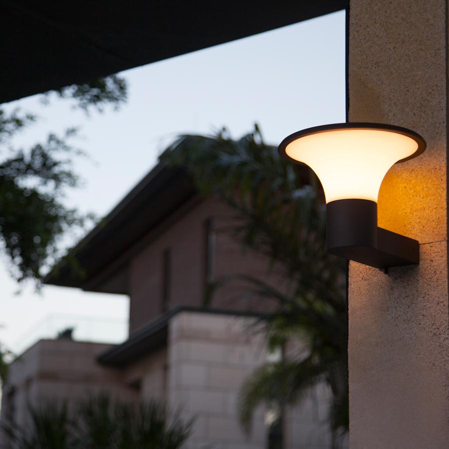 Outdoor Wall Lamps Manufacturers : Buy Villa wall Pillar lights Waterproof ball acrylic lampshade 20cm outdoor garden lamps column ...