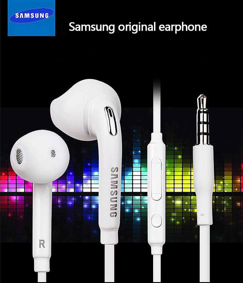 3.5mm Original Samsung In-Ear Earphone Sound Quality Music Earphone Headphone With Microphone Volume Control In-ear Headphones