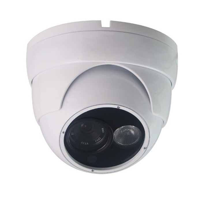 720P P2P Plug and Play B&amp;W RJ45 Network POE Waterproof 2.8MM Lens CCTV IP Dome Camera<br><br>Aliexpress