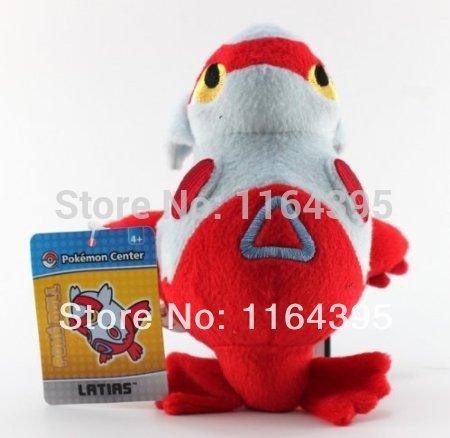 Free Shipping 12 cm 1pcs Japanese Anime Cartoon Pokemon Stuffed Animals Pokemon plush toy doll Latias(China (Mainland))