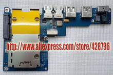 """820-2063-A 820-1970-A 922-7504 17"""" M Book Pro A1151 MagSafe Power Jack Audio USB Board w/ Cable(China (Mainland))"""