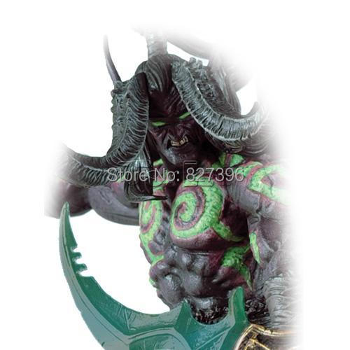 World of Warcraft WOW Deluxe Collector Action Figure: Illidan (Demon Form) PVC Model Game Toy
