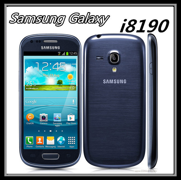 "I8190 Original Samsung Galaxy S3 mini Phone Dual-core 4.0""Touch 5MP Camera 8GB ROM 3G WIFI GPS Unlocked Mobile phone(China (Mainland))"