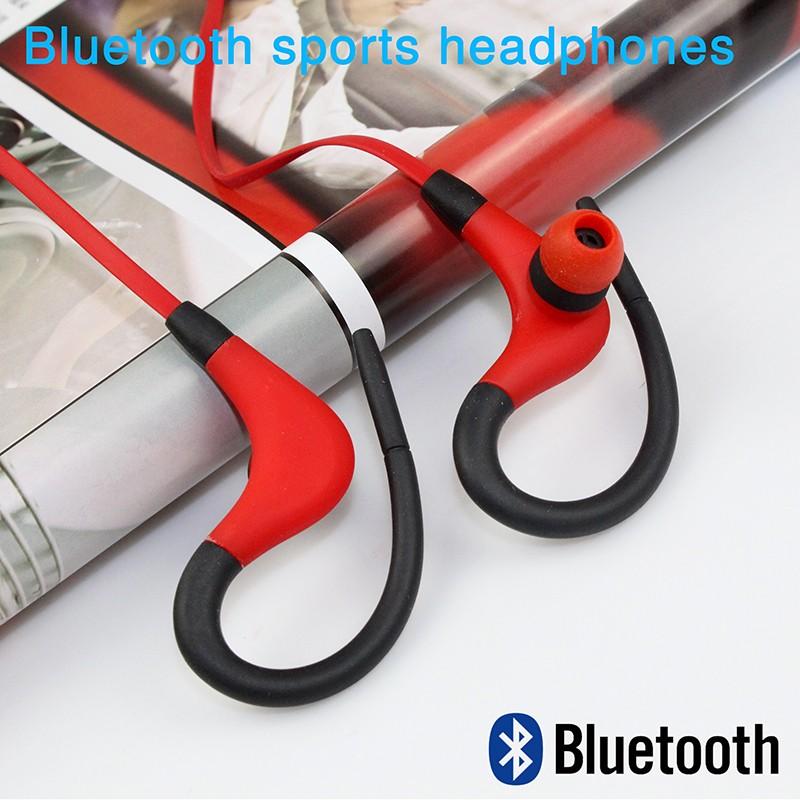 New bluetooth headset font b wireless b font earphone headphone bluetooth earpiece sport running stereo font