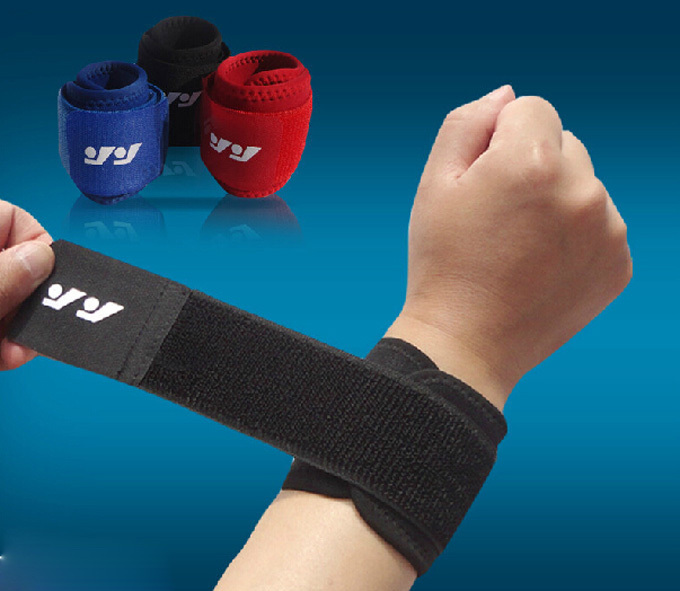 High quality fashion sports safety sportswear badminton basketball table tennis volleyball wrist support bracers(China (Mainland))