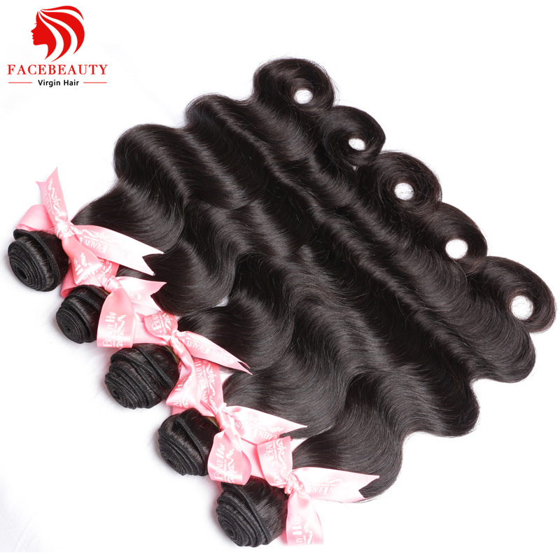 Indian Virgin Hair Weave 5pcs Lot Cheap Human Hair Unprocessed Indian Body Wave Wholesale 8-30 Inch Indian Remy Hair(China (Mainland))