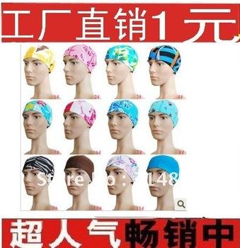 HOT selling Free shipping,swimsuit,cloth swimming cap,swim caps, swimming accessories,swimming hat-children men women,diving cap