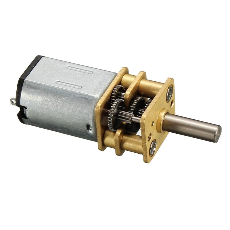 Nuevo Micro Engranajes de Reducción de Velocidad Del Motor DC 1.5 V-6 V Con Metal Mini Modelo De caja de Cambios de Engranaje de la Rueda Juguete Del Coche Del RC(China (Mainland))