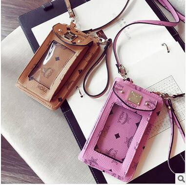 Iphone6 android samsung new inclined shoulder bag handbag wallet phones feature phones package . zhun------11a(China (Mainland))