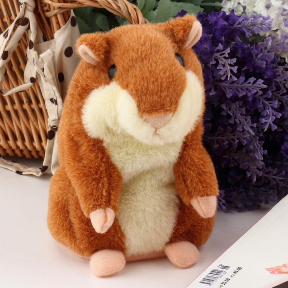 Гаджет  Lovely Talking Hamster Plush Toy Hot Cute Speak Talking Sound Record Hamster Toy Promotion baby toy hot selling free shipping None Игрушки и Хобби