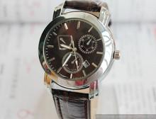 Envío gratis, los 2013 nuevos hombres de negocio de venta de relojes moda relojes calendario reloj de hombre