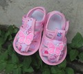 Toddler shoes skid proof Baby shoes Pink butterfly rabbit free shipping prewalker