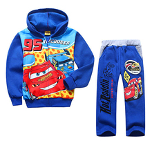 Retail 2015 autumn children kids clothing set hoodies + pants 2ces sets Bo pieys clothing set sport set Sports Suit Child(China (Mainland))