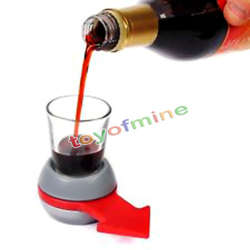 Creative Spin The Shot Glass Drinking Game Fun Party Gifts,Turntable Toys Drinking Game Shot Glass with Spinning Wheel Bar games(China (Mainland))