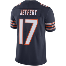 Men's Alshon Jeffery #17 Navy Color Rush Limited embroidery Logos Free Shipping(China (Mainland))