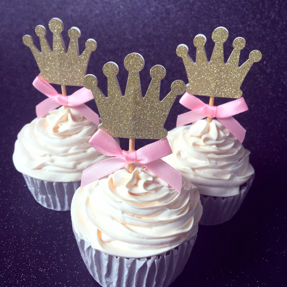 Baby Shower Cupcake Picks Decoration : Girl 1st birthday decorations cupcake toppers picks,Kids ...
