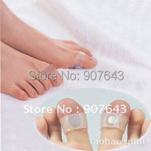 Free Shipping Guaranteed 100 New Magnetic Silicon Foot Massage Toe Ring Weight Loss Slimming Easy Healthy
