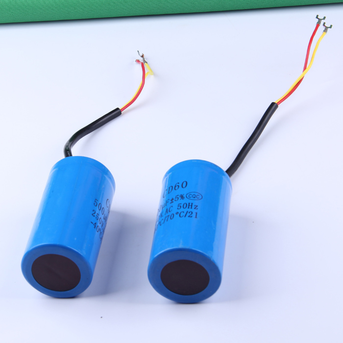 500UF heavy duty electric motor starting capacitor(China (Mainland))