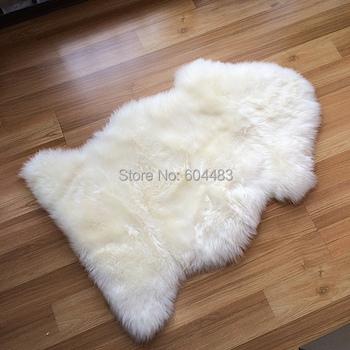 100% новая зеландия овчины коврики ( 85 * 55 см ) одна часть