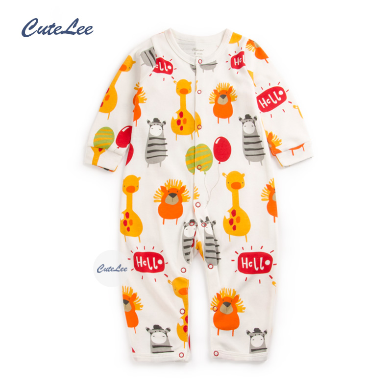 baby winter autumn character cotton rompers newborn baby boy girl romper clothes jumpsuit baby roupa infantil menino kid set(China (Mainland))