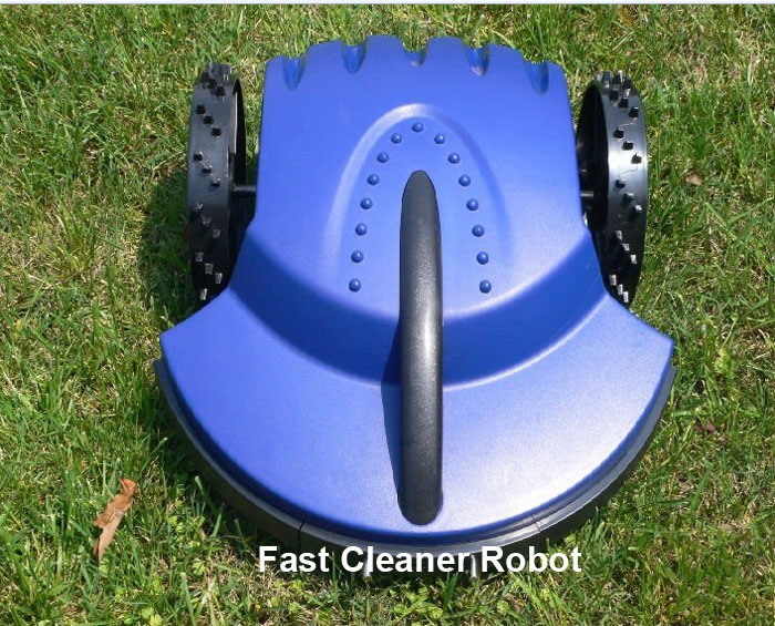 Free Shipping To Europe)Automatic Robot Lawn Mower+Remote Controller+lead acid battery+Rain Sensor,CE&ROHS(China (Mainland))