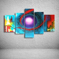 oil paintings hand painted painting on canvas home decoration Modern abstract oil Painting wall  XD5-089