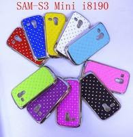 For Samsung Galaxy S3 Mini i8190 Luxury Star Diamond Hard Cover colors free shipping