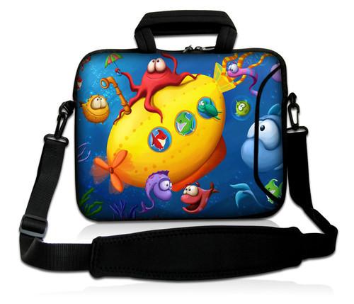 Sea fish 10Laptop Carrying Bag Sleeve Case Cover w/Side Pocket +Shoulder Strap For 9.7 -10.2 Laptop Tablet PC<br><br>Aliexpress