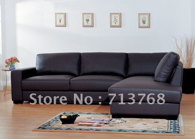 Modern Furniture Living Room Leather Sofa Corner Sofa MCNO985 In Living R