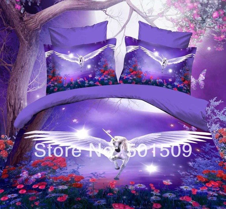 Popular Unicorn Bedding Set-Buy Cheap Unicorn Bedding Set ...