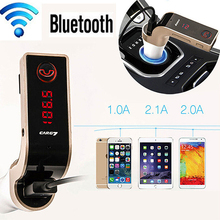 Hot  Wireless Hands-free Bluetooth FM Transmitter Modulator Car Kit MP3 Player TF USB(China (Mainland))